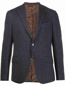 Etro - single-breasted blazer 3Q050955585550000000