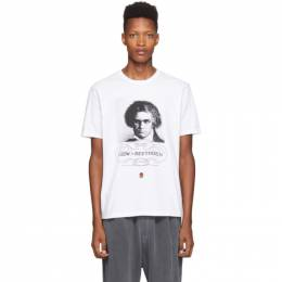 Undercover White Beethoven T-Shirt 192414M21300505GB