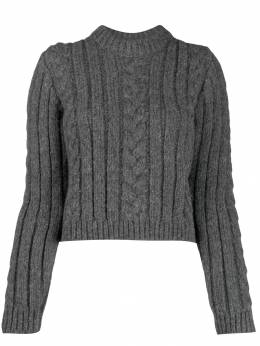 Ganni - cable knit jumper 85955066500000000000