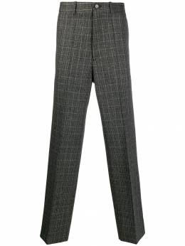 Marni - straight-leg check trousers U6669A6S509689550688