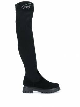 Tommy Jeans - over the knee sock boots EN666359556933300000
