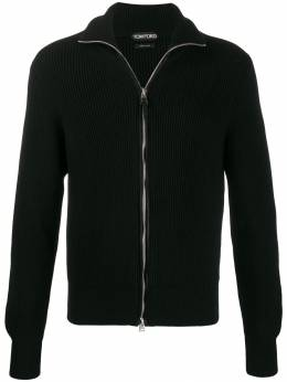 Tom Ford - full zip cable-knit sweater 953BTM88955056930000