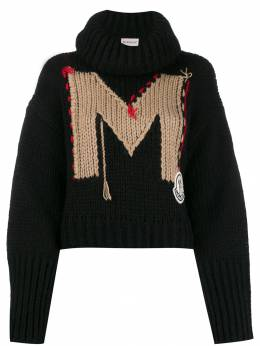 Moncler - intarsia knitted jumper 5556A996995565035000