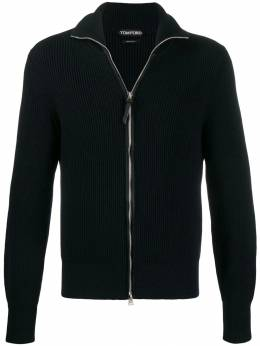 Tom Ford - full zip cable-knit sweater 953BTM88955056980000