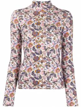 See By Chloé - floral print turtleneck top 99WJH096989559630300