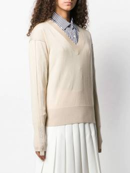 Burberry - logo embroidered jumper 99699559655300000000