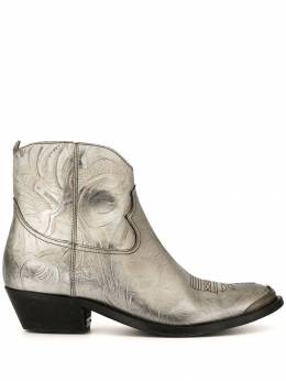 Golden Goose - metallic Young boots WS035F59556993500000