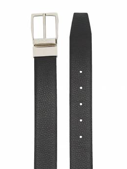Canali - logo engraved buckle belt A6696399695590355000
