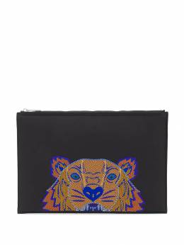 Kenzo - embroidered tiger clutch bag 5PM300F0095585566000