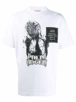 Palm Angels - logo graphic patch T-shirt A669F995936336988955