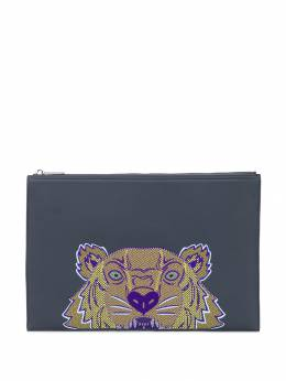 Kenzo - embroidered tiger clutch bag 5PM300F0095585563000