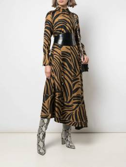 3.1 Phillip Lim - abstract tiger-print blouse 90960ZTW955390390000