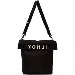 Y-3 Black Logo Tote Bag 192138F04800101GB