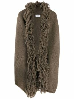 Snobby Sheep - shaggy collar knitted coat 05955959060000000000