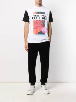 Versace Jeans Couture - graphic print T-shirt UB3M5360839555563300