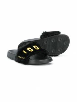 Dsquared2 Kids - шлепанцы Icon 666P0339955393050000