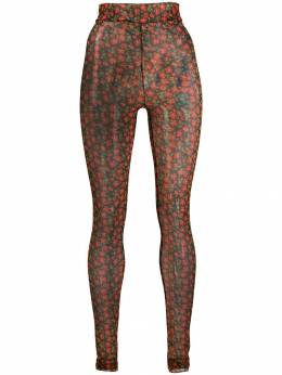 Henrik Vibskov - flower print leggings 9F593955966360000000