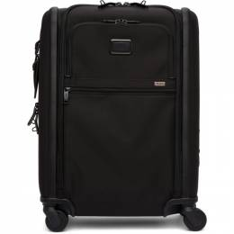 Black Alpha 3 Continental Expandable 4 Wheeled Carry-On Suitcase Tumi 192147M17300701GB