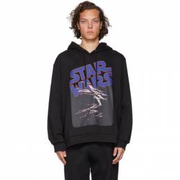 Etro Black Star Wars Edition X-Wing Hoodie 192267M20200301GB