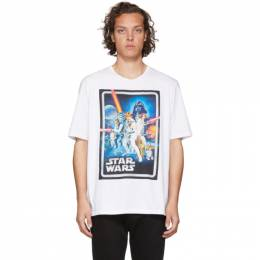 Etro White Star Wars Edition Poster T-Shirt 192267M21310304GB