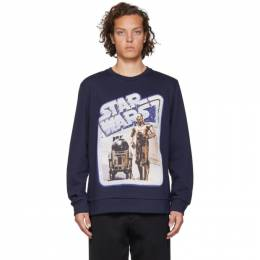 Etro Navy Star Wars Edition Droids Sweatshirt 192267M20400405GB