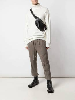 Rick Owens - cropped drop-crotch trousers 9F5395HY955680360000