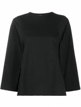Toteme - fluted sleeve T-shirt 55633695599893000000