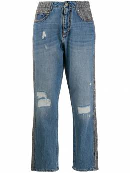 Ermanno Scervino - high rise cropped jeans 3P363CTRJM9556686600