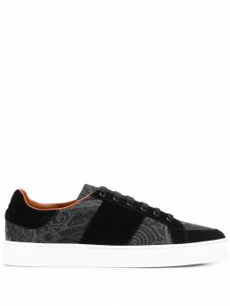 Etro - paisley print low-top sneakers 63330995596696000000