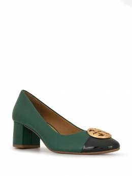 Tory Burch - Chelsea 50mm leather pumps 39955356390000000000