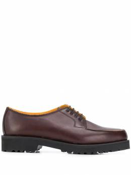Holland&Holland - chunky heel oxford shoes H0693LF6995569555000