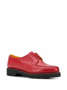 Holland&Holland - chunky heel oxford shoes H0695LF9695569593000