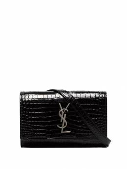 Saint Laurent - crocodile effect belt bag 395DND6E956839090000
