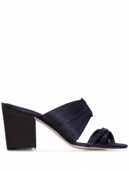 Rosie Assoulin - buckled 85mm pleated mules F6995635550000000000
