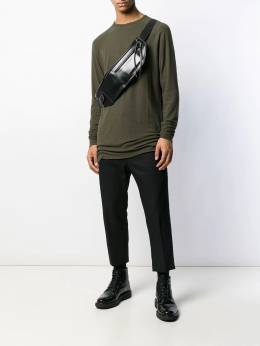 Haider Ackermann - long-line shirt 38660566899538659300