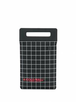 A-Cold-Wall* - grid clutch bag 9ZTPC0B9550536300000