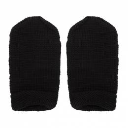 Black Merino Wool The Sculptors Mittens Toogood 192676M13500101GB