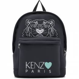 Kenzo Grey Limited Edition Tiger Backpack 192387M16601801GB