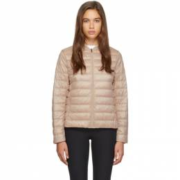 Max Mara Leisure Pink Down Sumatra Jacket Max Mara Leisure 192265F06100104GB