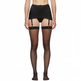 Agent Provocateur	 Black Felinda Suspender Belt 192281F28500702GB