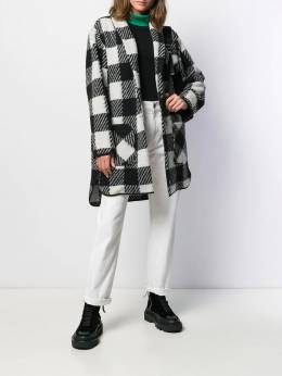 Woolrich - checked single breasted coat SC6656UT989095596996