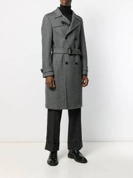 Dondup - striped trench coat 55PX6659UXXX95596903
