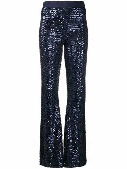 P.A.R.O.S.H. - sequin bootcut trousers 6695RUNWAY9550959800