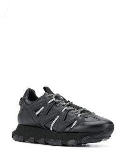 Lanvin - panelled lace-up sneakers KDECLMASPE9995505353