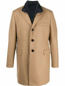 Fay - fitted single-breasted coat 53399396GAH955385660