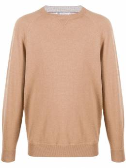 Brunello Cucinelli - relaxed-fit knitted jumper 69098CY9999550509300