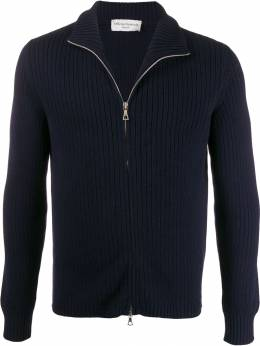 Officine Generale - ribbed roll neck zipped cardigan MKNT6886669553985300