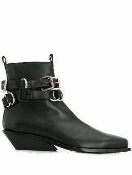 Ann Demeulemeester - buckled ankle boots 05065363955999300000