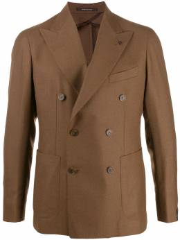 Tagliatore - fitted double-breasted blazer C06K68UIZ66695505950