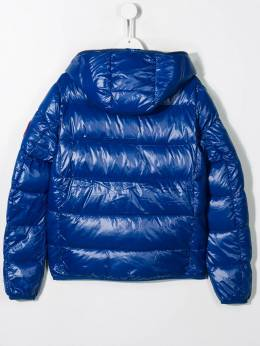 Save The Duck Kids - TEEN padded hooded jacket 08B95536363000000000